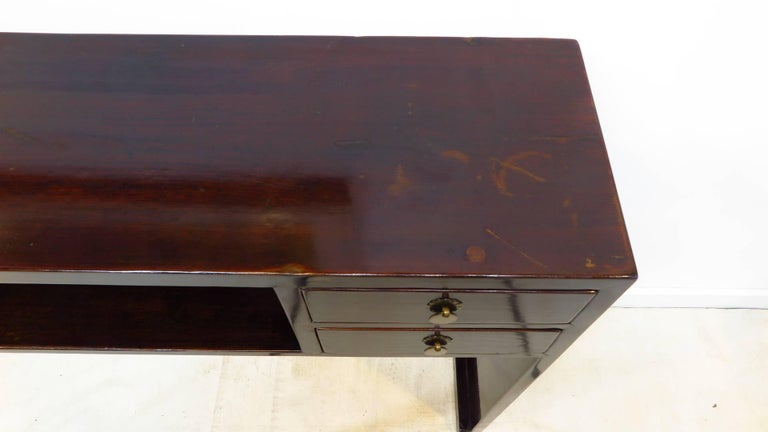 19th Century Compartment Console Table In Good Condition For Sale In New York, NY