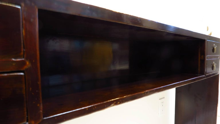 19th Century Compartment Console Table For Sale 2