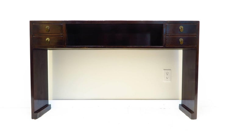 19th Century Compartment Console Table For Sale 3