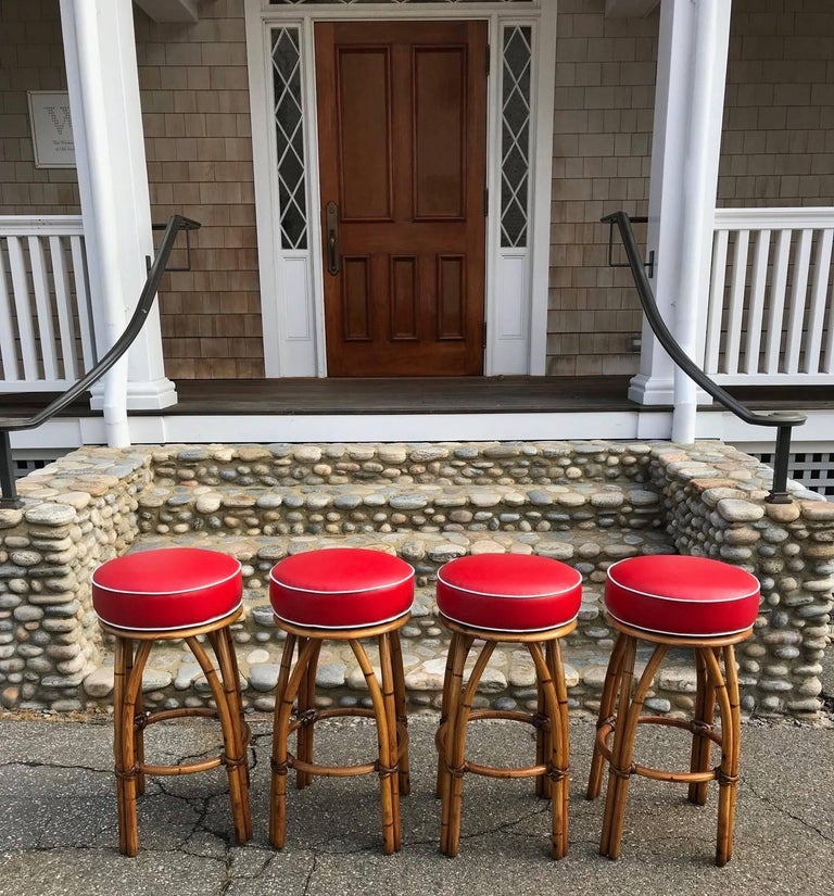 Vintage Heywood Wakefield Bar Stools At 1stdibs