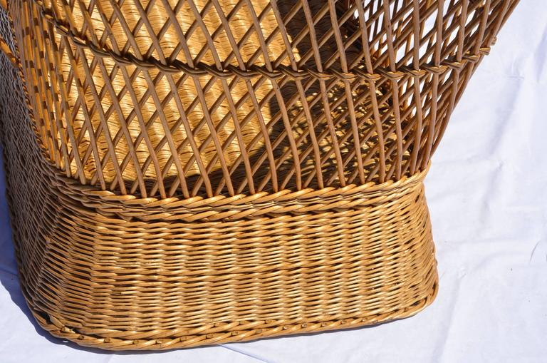 Cane McHugh Willow Armchair For Sale