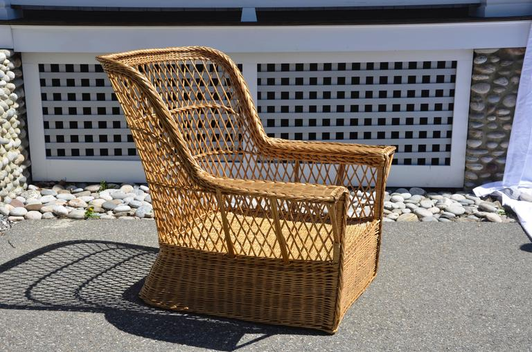 Mission McHugh Willow Armchair For Sale