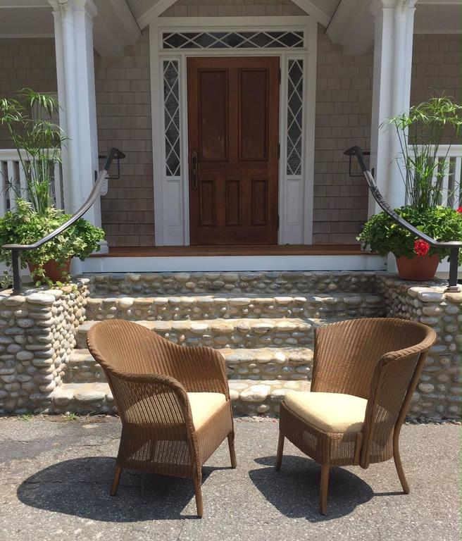 Antique Lusty S Of London Lloyd Loom Chairs At 1stdibs