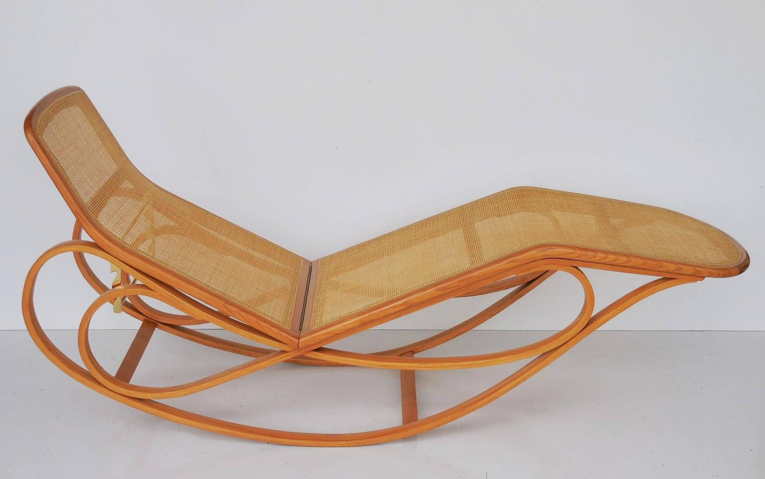 Edward wormley for dunbar rocking chaise for sale at 1stdibs for Chaise x rocker