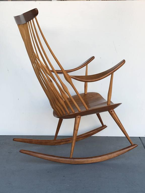 Most Comfortable Rocking Chair. Beautifully Handcrafted, A Work Of Art By  Any Standard.