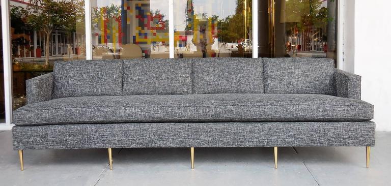 Stunning Mid-Century sofa. 108