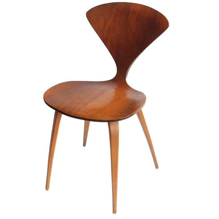 Plycraft Wood Chair by Norman Cherner  sc 1 st  1stDibs & Plycraft Wood Chair by Norman Cherner at 1stdibs