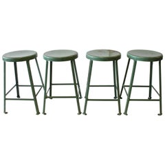 Original American Industrial Toledo Stools For Sale At 1stdibs