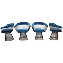 Warren Platner Dining Chairs for Knoll
