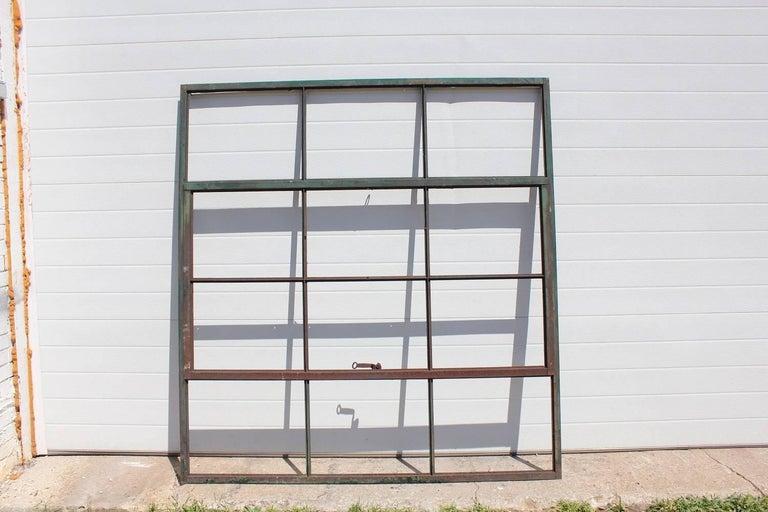 Antique Factory Casement Metal Window at 1stdibs