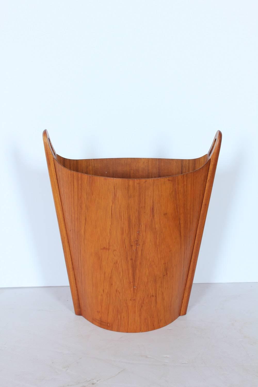 Mid Century Waste Basket By Einar Barnes For Heggen For