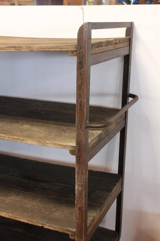 American Antique Industrial Shelves For Sale
