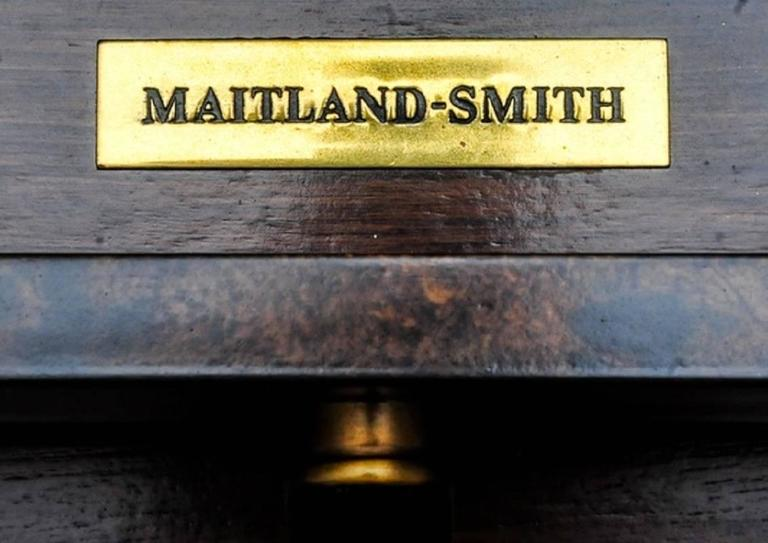 Mid-Century Modern Stylish Sideboard or Console Table by Maitland-Smith For Sale