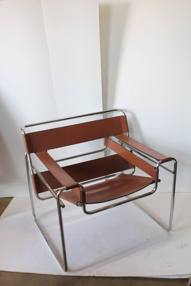 vintage wassily lounge chair by marcel breuer for knoll for sale at 1stdibs. Black Bedroom Furniture Sets. Home Design Ideas