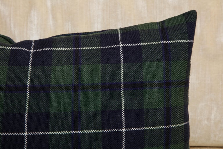 Scottish Tartan Pillows Associated to Clan Urquhart from Scotland For Sale