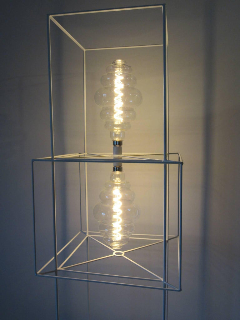 Sculptural Midcentury Floor Lamp in the Style of Frederick Weinberg For Sale 4