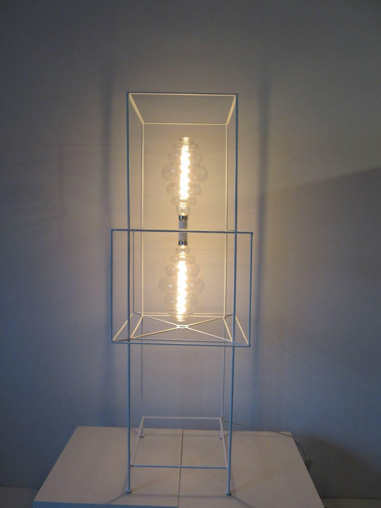 Sculptural Midcentury Floor Lamp in the Style of Frederick Weinberg For Sale 5