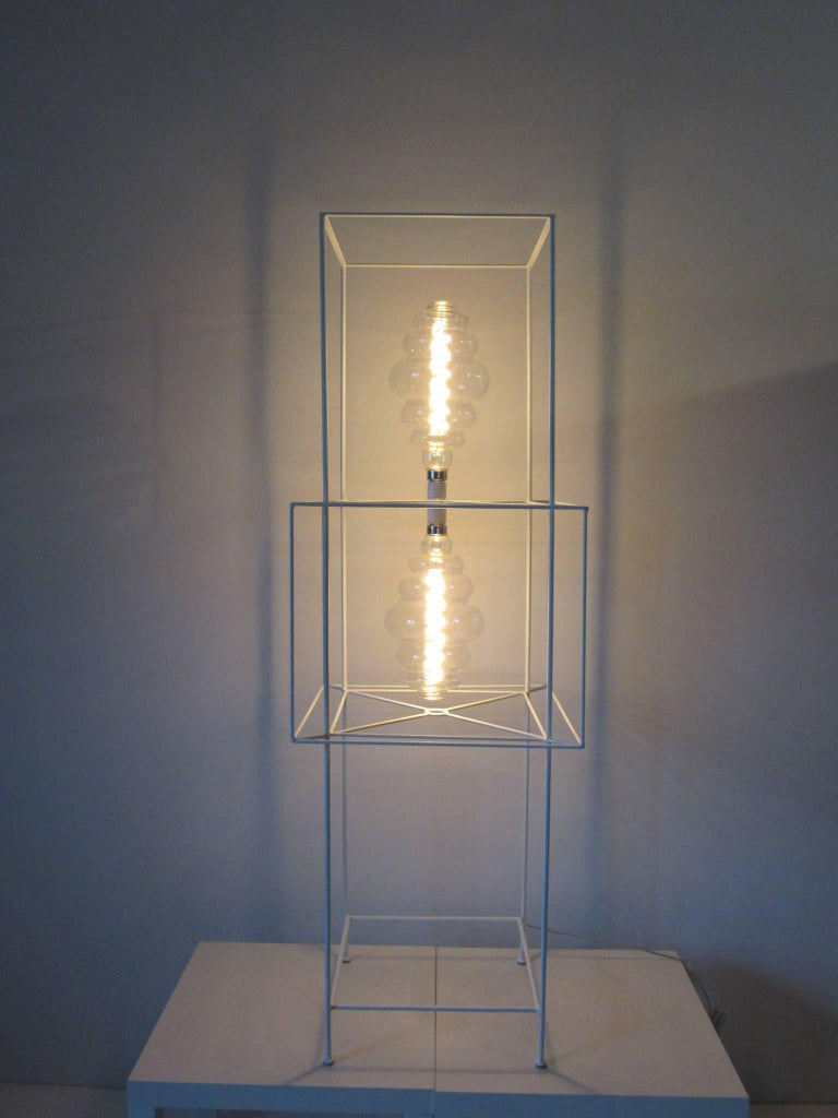 Sculptural Midcentury Floor Lamp in the Style of Frederick Weinberg For Sale 6