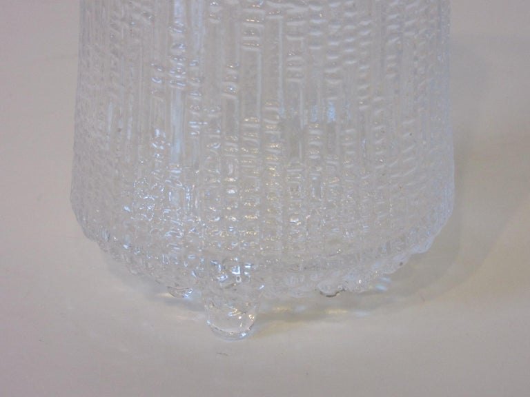 Tapio Wirkkala Thule Highball Ice Glasses In Excellent Condition For Sale In Cincinnati, OH