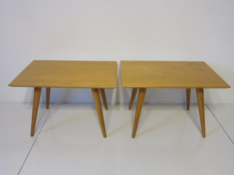 Mid-Century Modern Paul McCobb Planner Group Side Tables For Sale