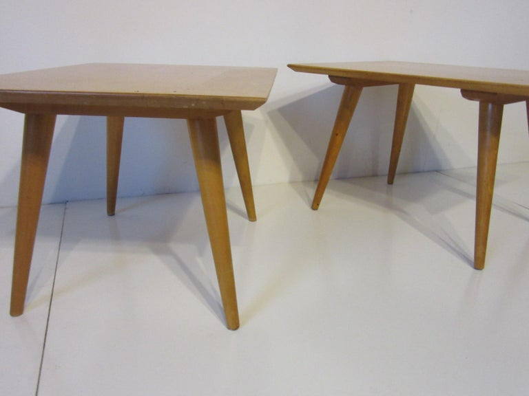 Paul McCobb Planner Group Side Tables In Good Condition For Sale In Cincinnati, OH
