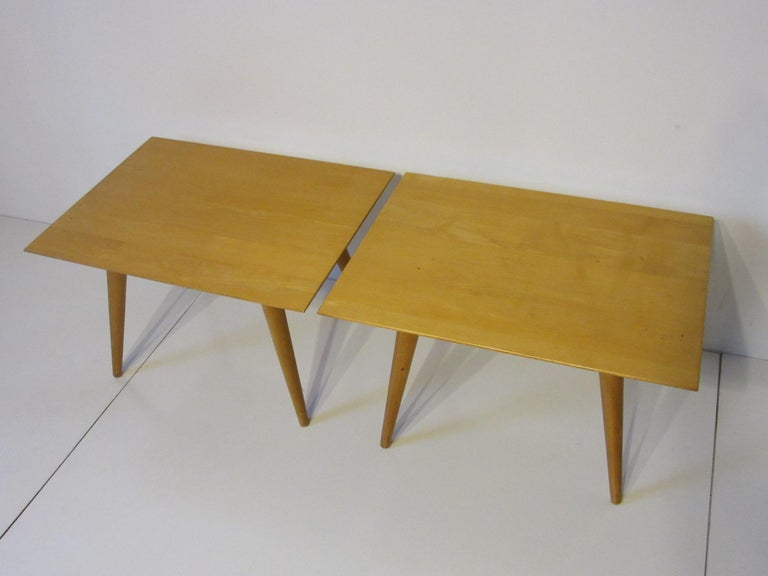 20th Century Paul McCobb Planner Group Side Tables For Sale
