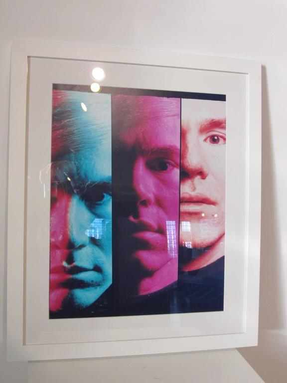Andy Warhol 1968 Portrait by Philippe Halsman In Good Condition For Sale In Cincinnati, OH