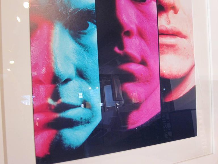 Modern Andy Warhol 1968 Portrait by Philippe Halsman For Sale