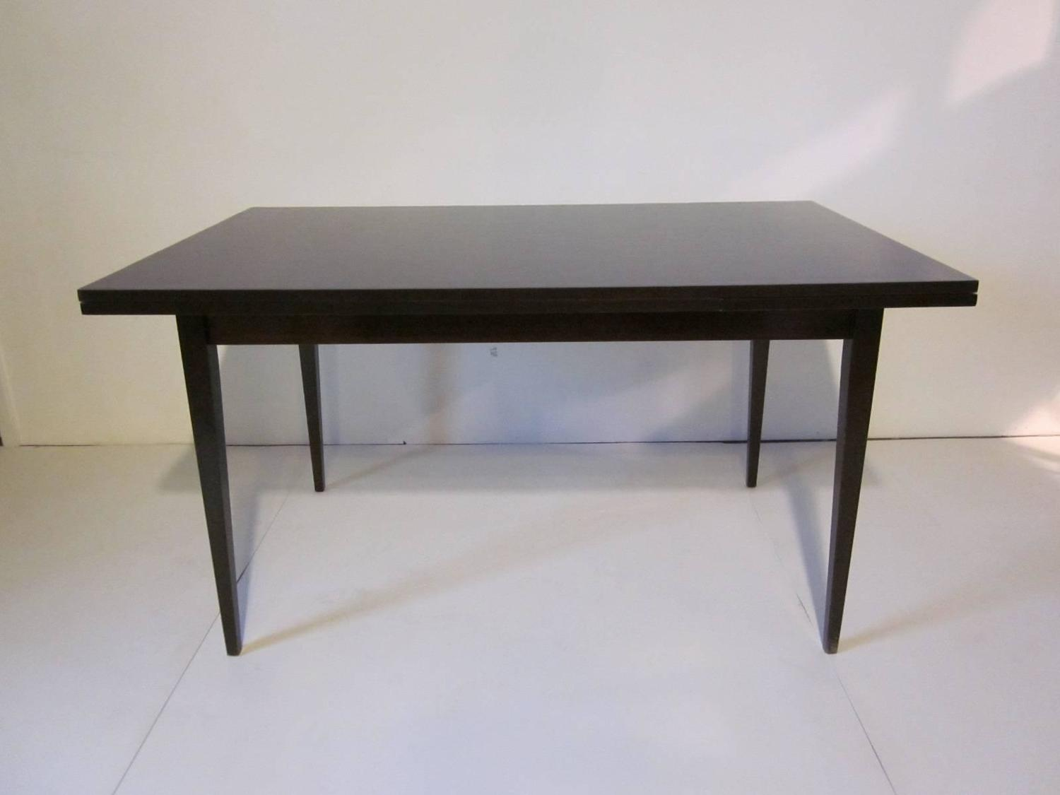 Danish Dining Table With Pull Out Leaves In The Style Of