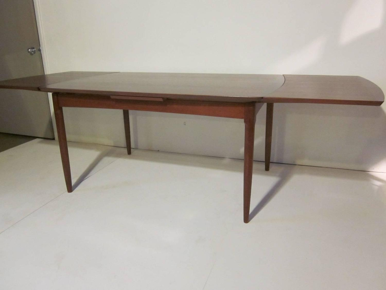danish dining table in the style of hans wegner at 1stdibs