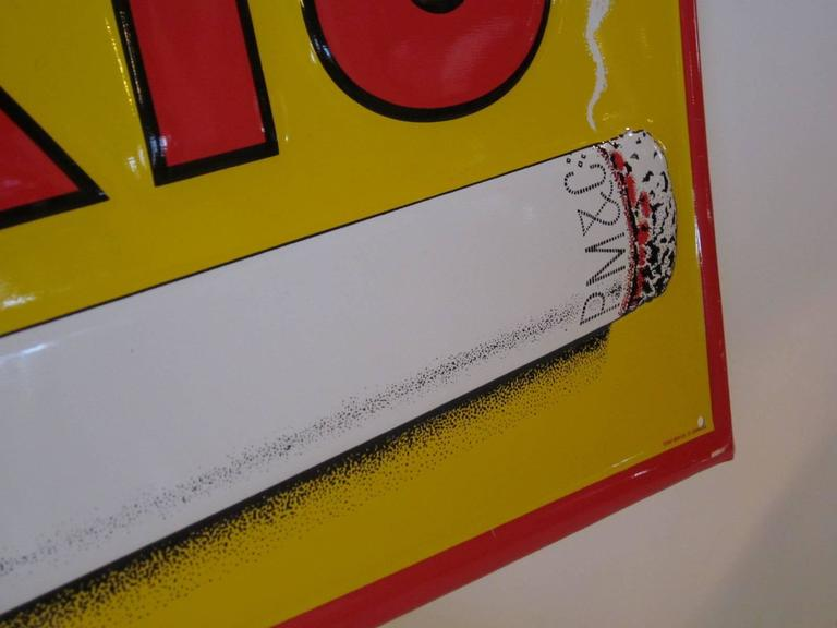 Vintage Philip Morris Cigarette Advertising Sign At 1stdibs