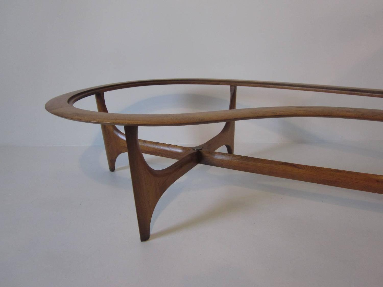 Biomorphic Sculptural Coffee Table For Lane At 1stdibs