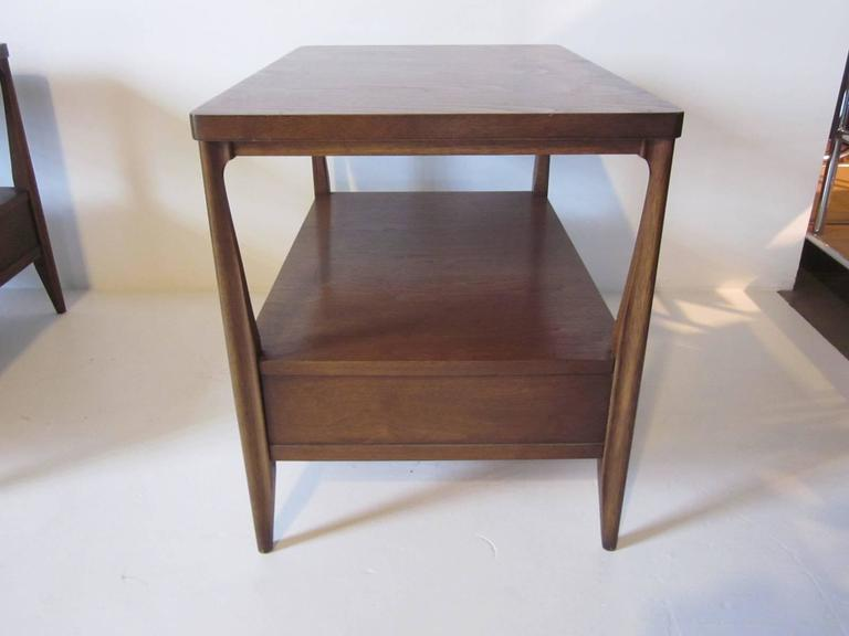 Mahogany Nightstands or End Tables For Sale 1