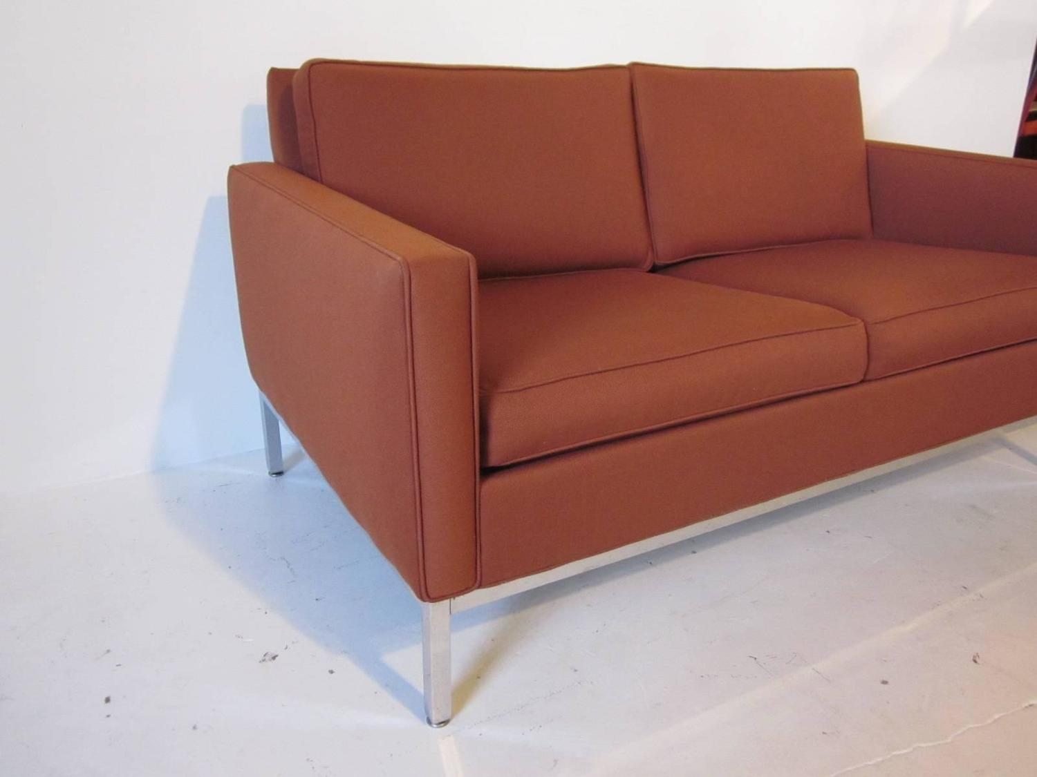 Knoll Steelcase Styled Loveseat Sofa For Sale At 1stdibs
