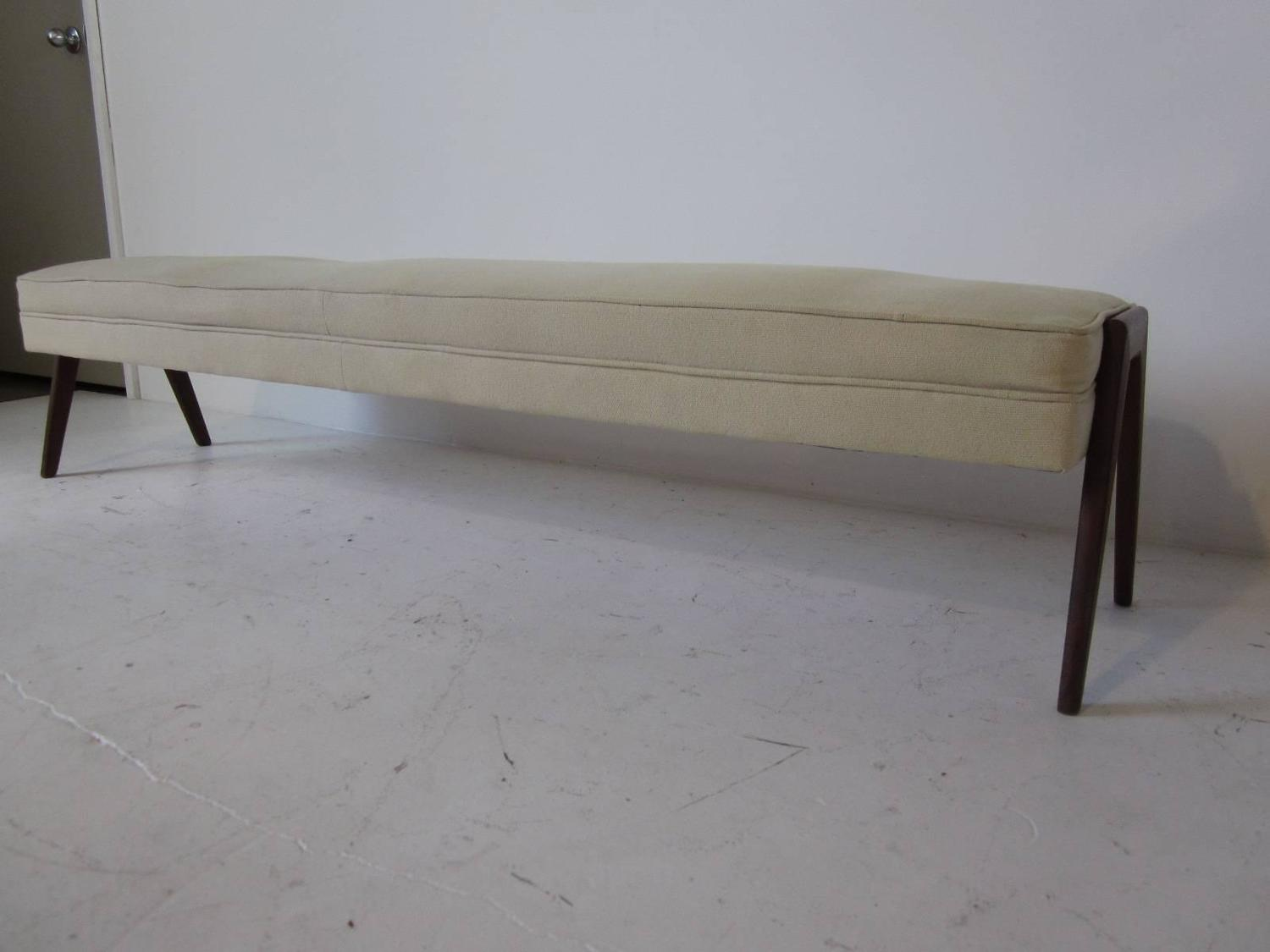 #635A4F Long Danish Upholstered Bench For Sale At 1stdibs with 1500x1125 px of Brand New Long Upholstered Bench 11251500 pic @ avoidforclosure.info