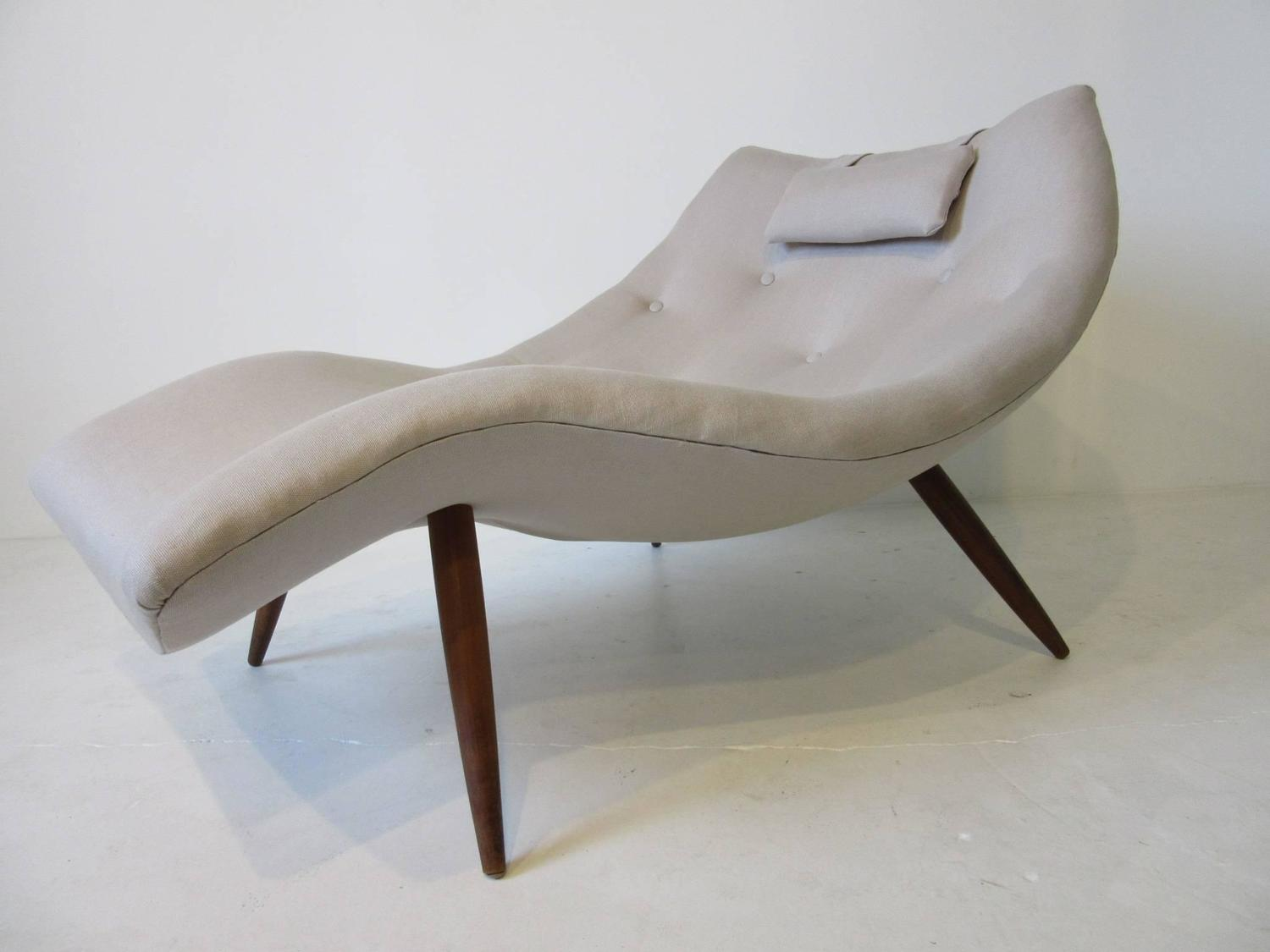 Rare Adrian Pearsall Chaise Lounge Chair For Sale At 1stdibs