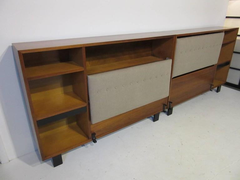 George Nelson For Herman Miller King Headboard For Sale At