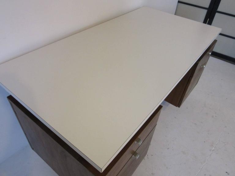 Mid-Century Modern George Nelson Desk from a National Historic Landmark Eero Saarinen Building For Sale