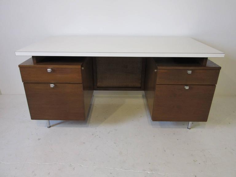 George Nelson Desk from a National Historic Landmark Eero Saarinen Building For Sale 2