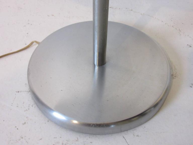 American Walter Von Nessen Art Deco Styled Floor Lamp For Sale