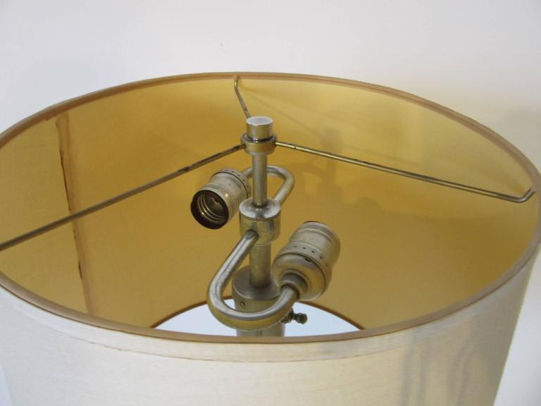 Walter Von Nessen Art Deco Styled Floor Lamp In Good Condition For Sale In Cincinnati, OH