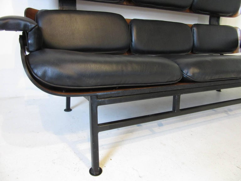 American Prototype George Mulhauser Plycraft Sofa Very Rare For Sale
