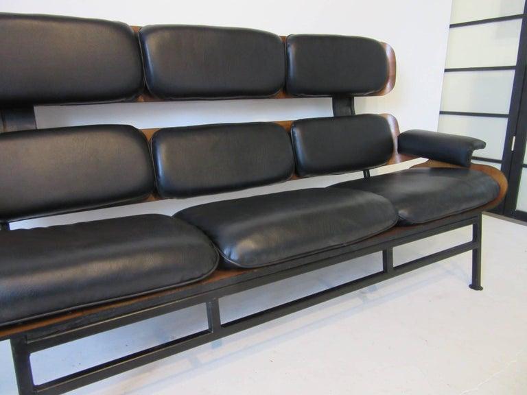 20th Century Prototype George Mulhauser Plycraft Sofa Very Rare For Sale