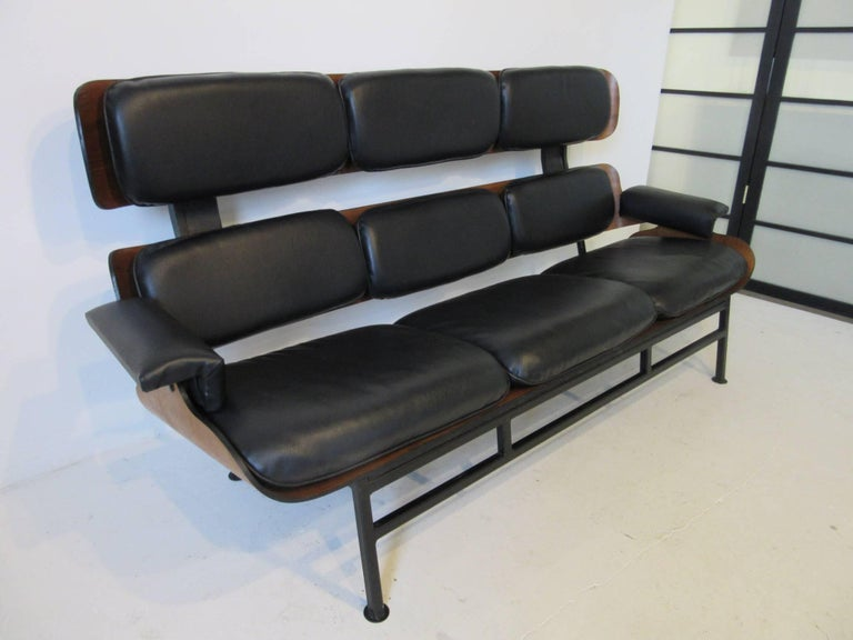 Prototype George Mulhauser Plycraft Sofa Very Rare For Sale 1