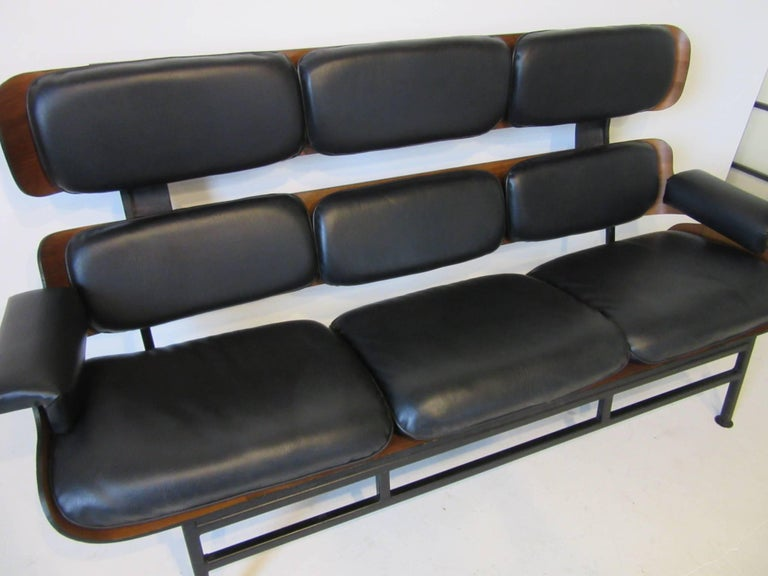 Prototype George Mulhauser Plycraft Sofa Very Rare For Sale 2