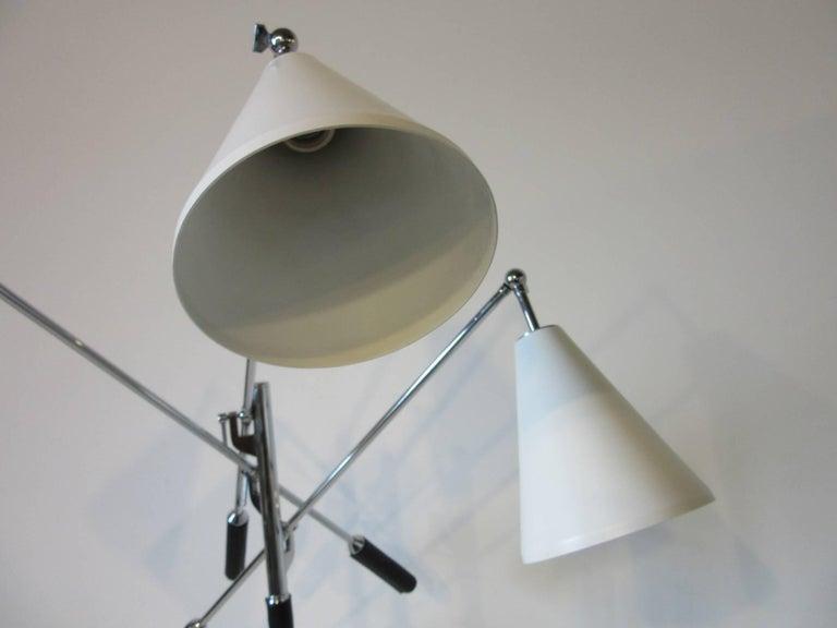 Italian Triennale Floor Lamp in the style of Angelo Lelli For Sale 2