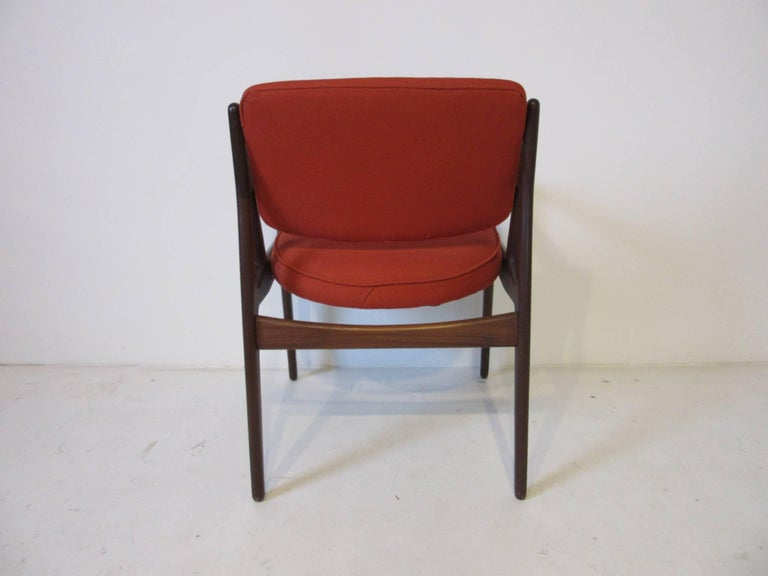 Danish Arne Vodder Tilt Back Armchair, Denmark For Sale