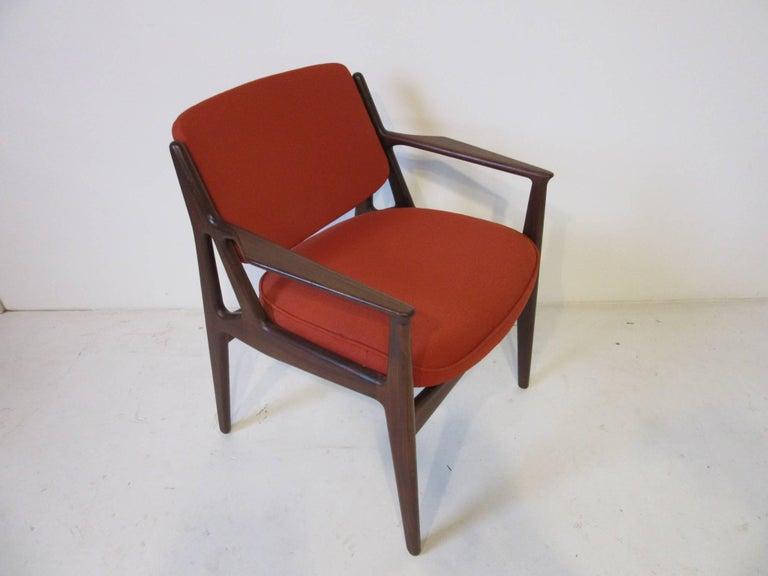 20th Century Arne Vodder Tilt Back Armchair, Denmark For Sale