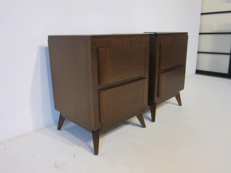 American Eliel Saarinen Nightstands for R-Way Modern For Sale