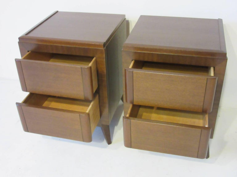 20th Century Eliel Saarinen Nightstands for R-Way Modern For Sale